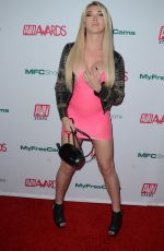 AUBREY KATE at Aadult Video News Awards Nominations in Hollywood 11/21/2019