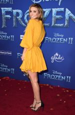 AUDRINA PATRIDGE at Ffrozen 2 Premiere in Hollywood 11/07/2019