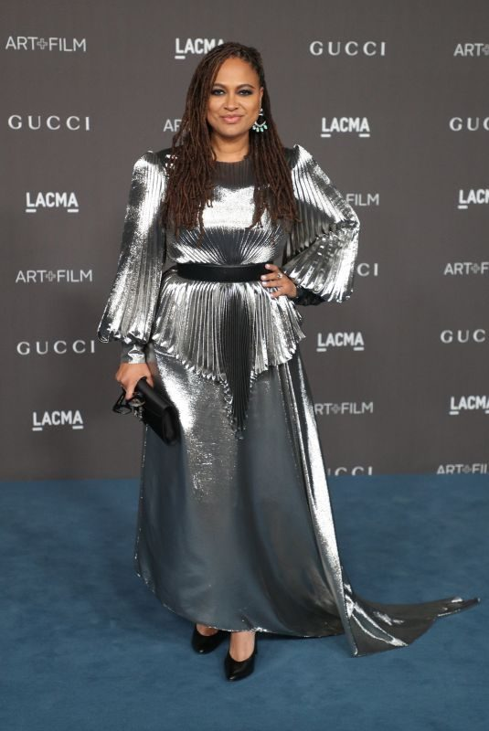 AVA DUVERNAY at 2019 Lacma Art + Film Gala Presented by Gucci in Los Angeles 11/02/2019