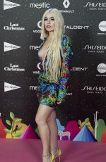 AVA MAX at Los40 Music Awards in Madrid 11/08/2019