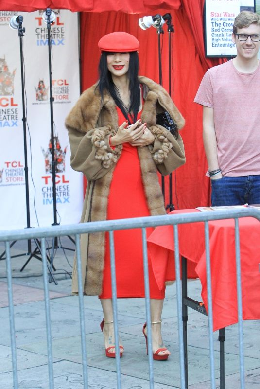 BAI LING at Chinese Theater in Hollywood 11/23/2019