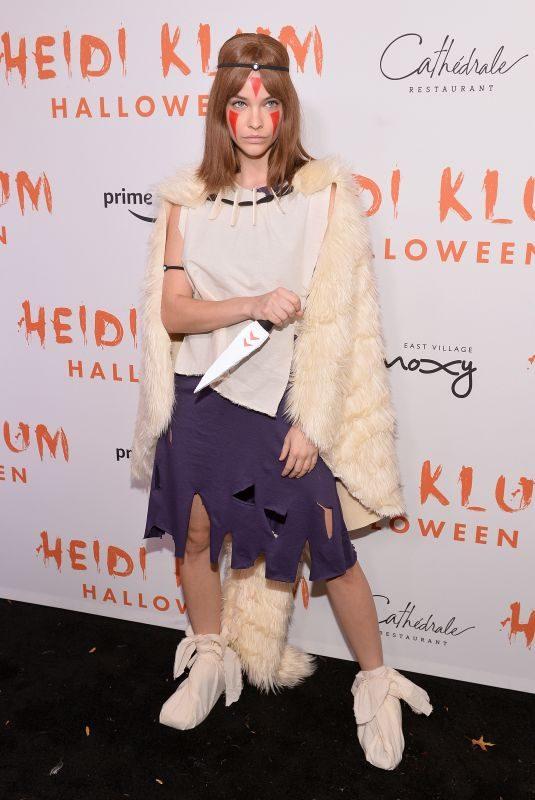 BARBARA PALVIN at Heidi Klum's 20th Annual Halloween Party in New York 10/31/2019