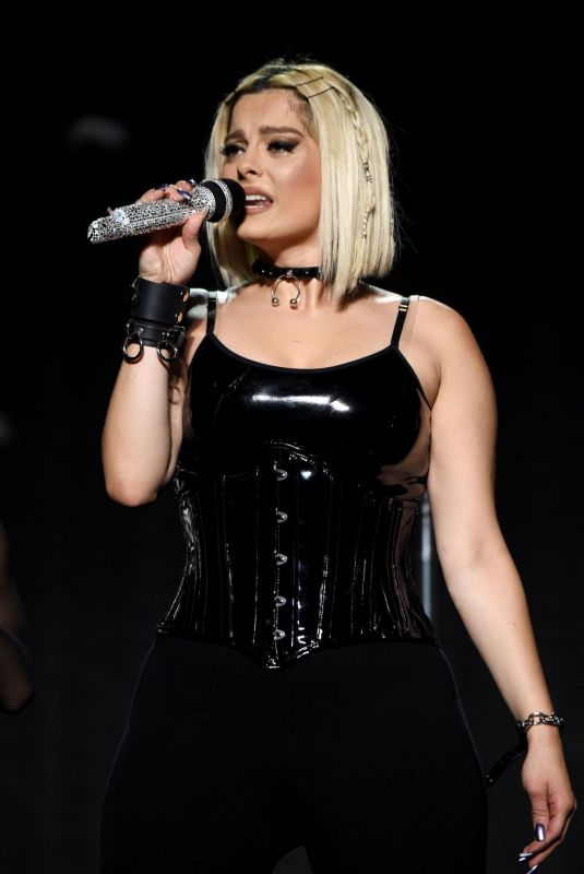 BEBE REXHA Performs at Prudential Center in Newark 11/22/2019