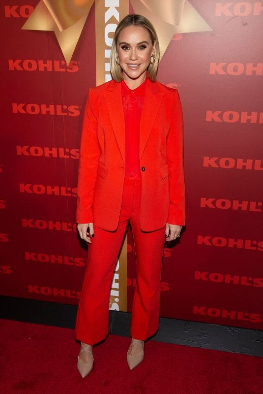 BECCA TOBIN at Kohl's New Gifts at Every Turn Holiday Pop-up Opening in New York 11/06/2019