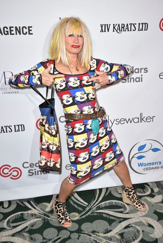 BETSEY JOHNSON at Women's Guild Cedar's-Sinai Luncheon in Los Angeles 11/06/2019
