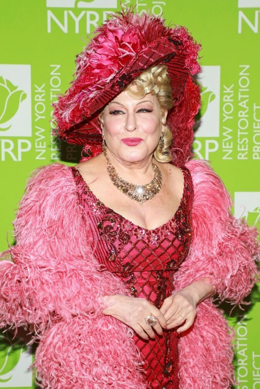 BETTE MIDLER at Bette Midler's 2019 Hulaween in New York 10/31/2019