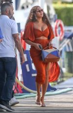 BEYONCE Out and About in Fort Lauderdale 11/17/2019
