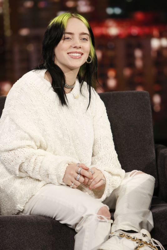 BILLIE EILISH at Jimmy Kimmel Live 11/21/2019