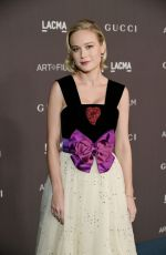 BRIE LARSON at 2019 Lacma Art + Film Gala Presented by Gucci in Los Angeles 11/02/2019