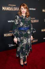 BRYCE DALLAS HOWARD at The Mandalorian Premiere in Los Angeles 11/13/2019
