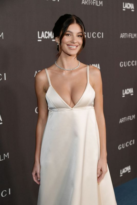 CAMILA MORRONE at 2019 Lacma Art + Film Gala Presented by Gucci in Los Angeles 11/02/2019
