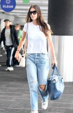 CAMILA MORRONE at LAX Airport in Los Angeles 11/11/2019