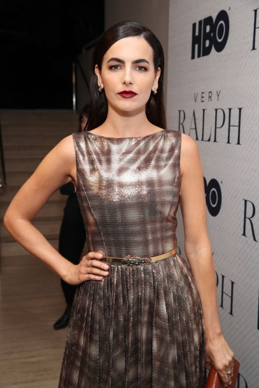 CAMILLA BELLE at Very Ralph Premiere in Beverly Hills 11/11/2019