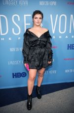 CAMREN BICONDOVA at Lindsey Vonn: The Final Season Premiere in Beverly Hills 11/07/2019