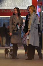 CARA DELEVINGNE and ASHLEY BENSON Take a Break of Broadway Show in New York 11/21/2019