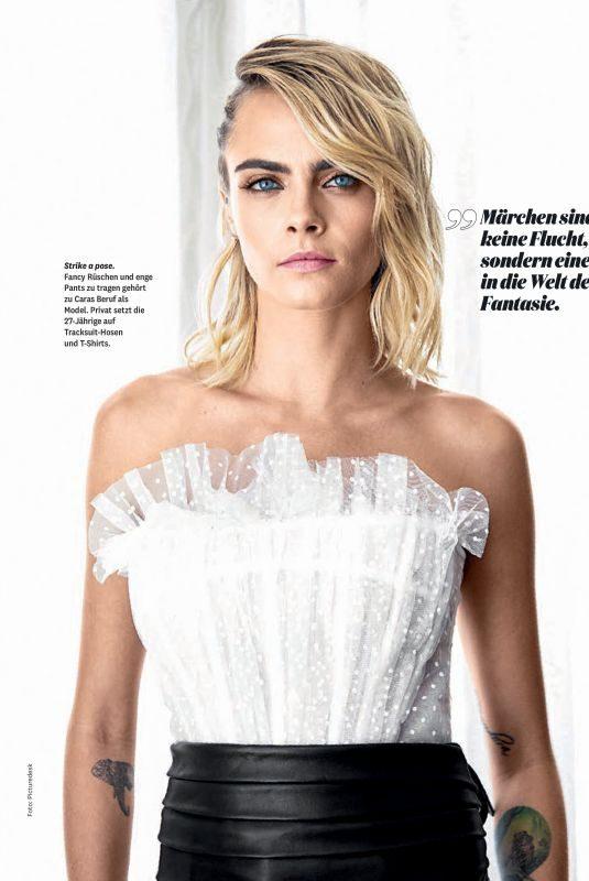 CARA DELEVINGNE in Maxima Magazine, November 2019