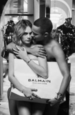 CARA DLEVINGNE for Balmain Truth or Dare Campaign, Autumn 2019