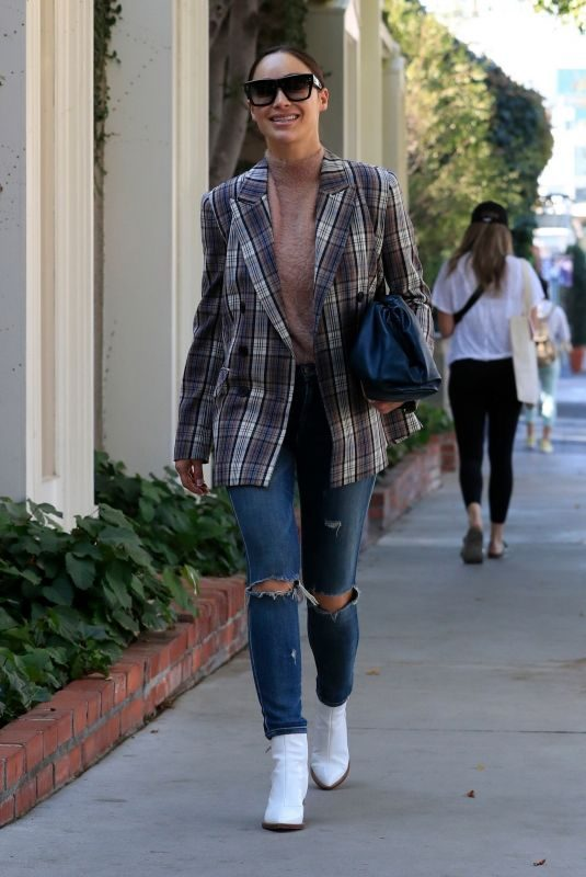 CARA SANTANA Out and About in Los Angeles 11/04/2019