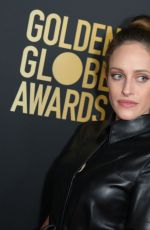CARLY CHAIKIN at HFPA & THR Golden Globe Ambassador Party in West Hollywood 11/14/2019
