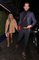 CAROLINE FLACK Leaves Her 40th Birthday Party in London 11/09/2019