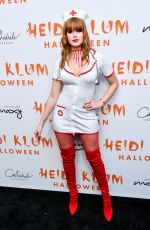CAROLINE SILTA at Heidi Klum