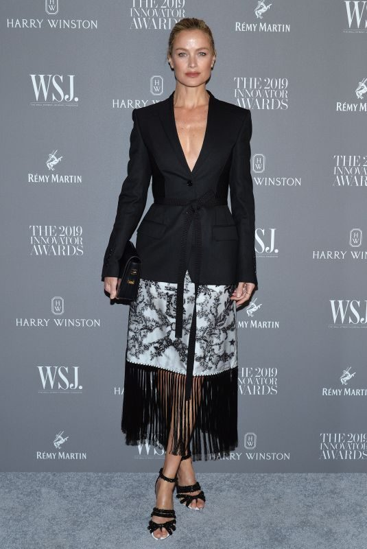 CAROLYN MURPHY at WSJ Magazine 2019 Innovator Awards in New York 11/06/2019