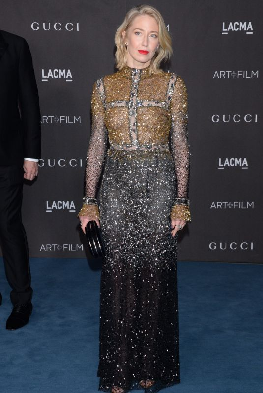 CARRIE COON at 2019 Lacma Art + Film Gala Presented by Gucci in Los Angeles 11/02/2019