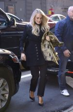 CARRIE UNDERWOOD Arrives at Good Morning America in New York 11/08/2019