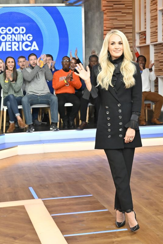 CARRIE UNDERWOOD at Good Morning America 11/11/2019