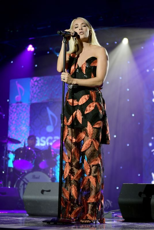 CARRIE UNDERWOOD Performs at 2019 Ascap Country Music Awards in Nashville 11/11/2019