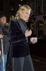 CATE BLANCHETT Leaves Fayre of St. James Christmas Carol Concert in London 11/26/2019