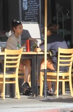 CHANTEL JEFFRIES Out for Lunch in Hollywood 11/11/2019