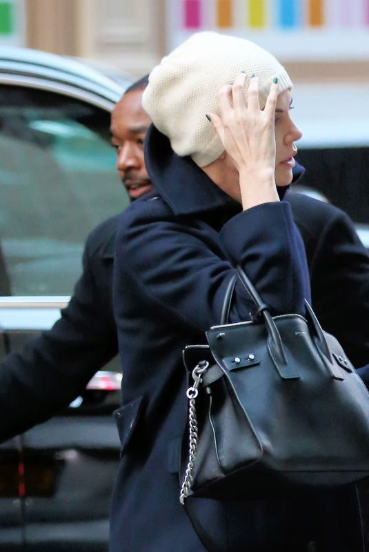CHARLIZE THERON Arrives at Crosby Hotel in New York 11/10/2019