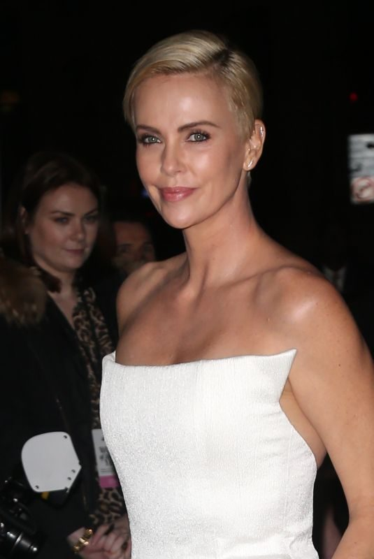CHARLIZE THERON Arrives at Glamour Women of the Year Awards York 11/11/2019