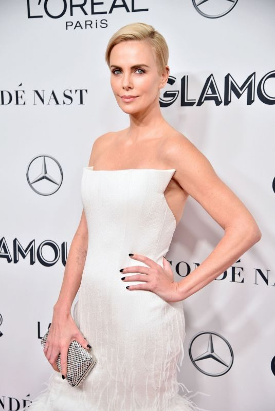 CHARLIZE THERON at 2019 Glamour Women of the Year Awards in New York 11/11/2019