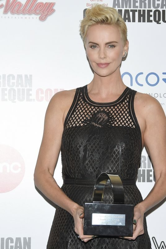 CHARLIZE THERON at 33rd American Cinematheque Award Honoring Charlize Theron 11/08/2019