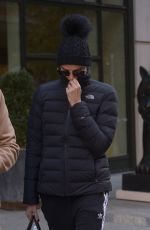 CHARLIZE THERON Leaves Her Hotel in New York 11/13/2019