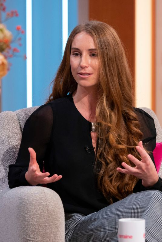 CHARLOTTE BOSTOCK at Lorraine Show in London 11/22/2019