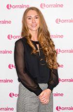 CHARLOTTE BOSTOCK at Lorraine Show in London 11/22/2019