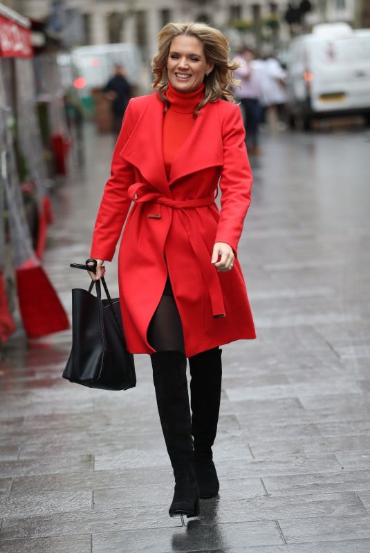 CHARLOTTE HAWKINS Arrives at Global Offices in London 11/28/2019