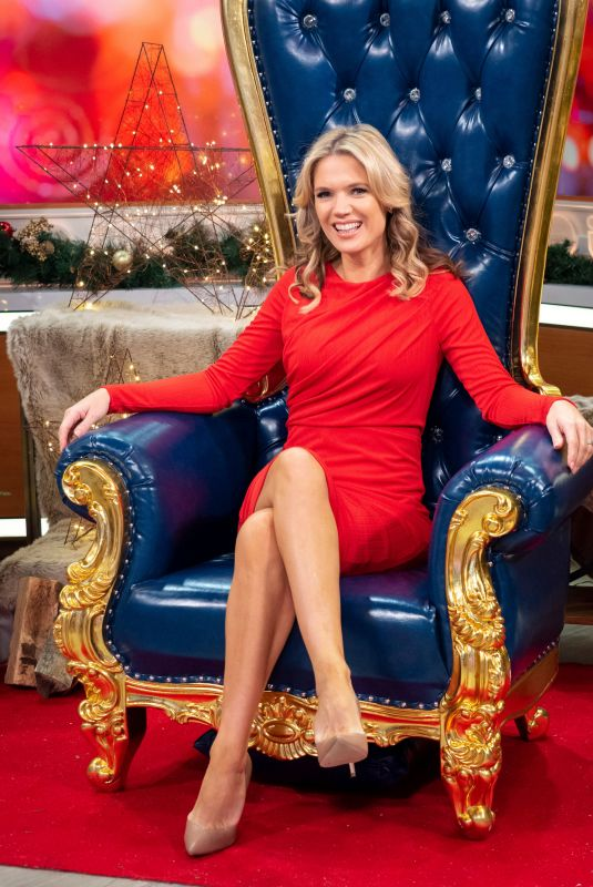 CHARLOTTE HAWKINS at Good Morning Britain Show in London 11/28/2019