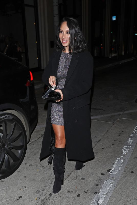 CHERYL BURKE at Catch LA in West Hollywood 11/26/2019
