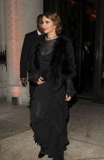 CHERYL COLE Leaves Freemasons Hall in Covent Garden 11/27/2019