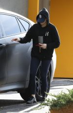 CHLOE MORETZ Leaves a Gym in New York 11/20/2019