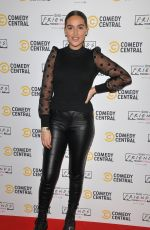 CHLOE ROSS at Comedy Central Friends Festive Exhibition Launch in London 11/28/2019