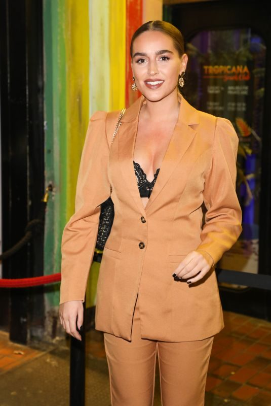 CHLOE ROSS at Gabby Allen's Sportfx Clothing Line Launch in London 11/07/2019