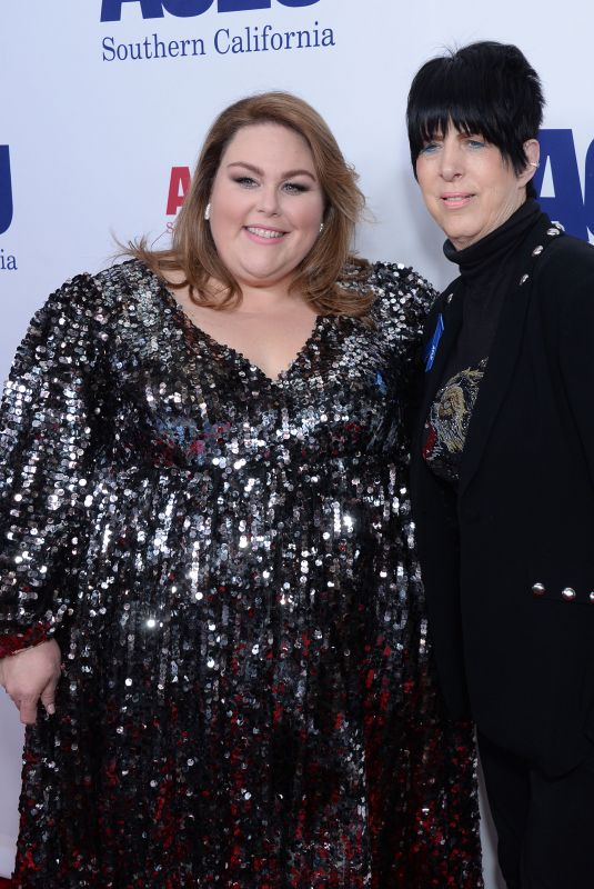CHRISSY METZ and DIANE WARREN at Aclu Socal's Annual Bill of Rights Dinner in Beverly Hills 11/17/2019