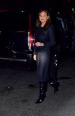 CHRISSY TEIGEN Night Out in New York 11/21/2019