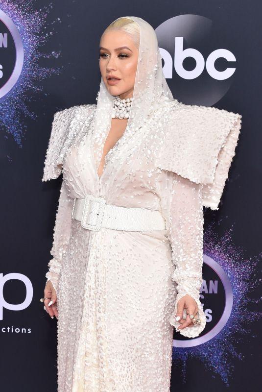 CHRISTINA AGUILERA at 2019 America Music Awards in Los Angeles 11/24/2019