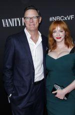 CHRISTINA HENDRICKS at NBC and Vanity Fair